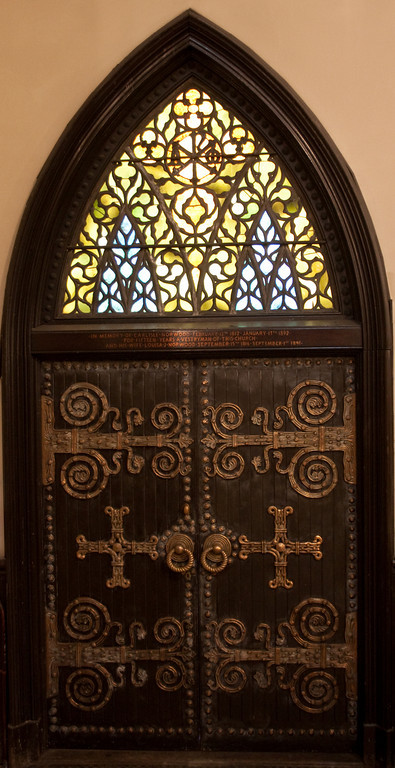 Doors at Church of the Incarnation