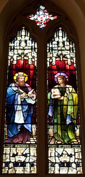 Church of the Incarnation Apostles window