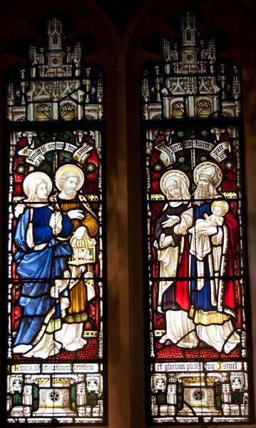 Church of the Incarnation Chapel of the Nativity window