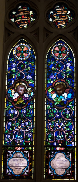 Church of the Incarnation God as a Good Vintner window