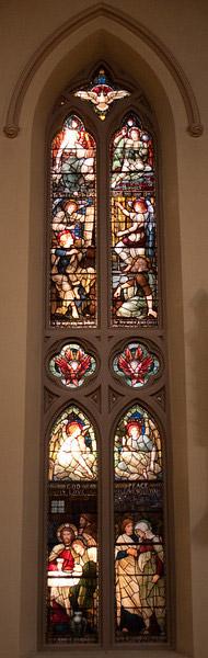 Church of the Incarnation Love of Christ window