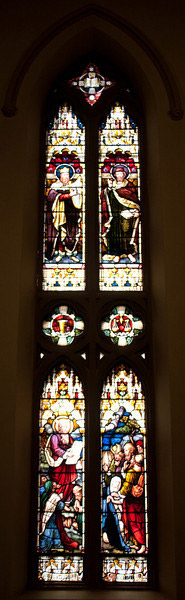 Church of the Incarnation Moses and the Law window