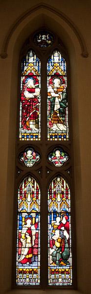 Church of the Incarnation St. Paul on Mars Hill window