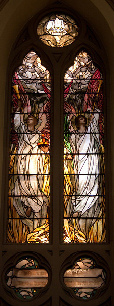 Church of the Incarnation Victory Over Death window